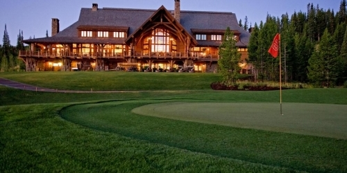 Big Sky Resort Golf Course Montana golf packages
