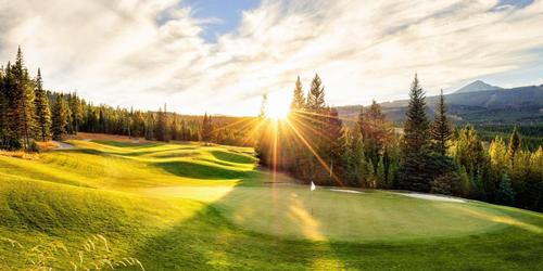 Spanish Peaks Mountain Club Montana golf packages