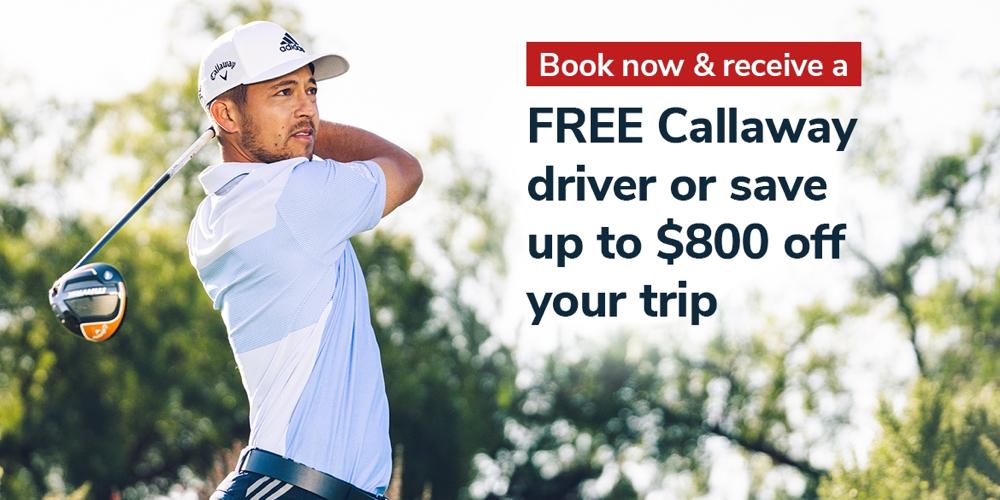 BIG Golf Trip Giveaway